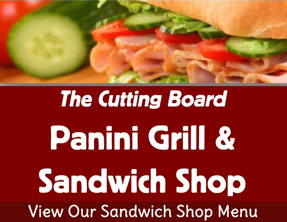 View Our Sandwich Menu!